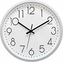 Foxtop Wall Clock 30 cm Silent Non-Ticking Clock