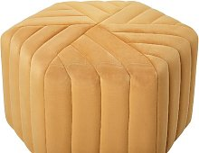 Fraga Pouffe Fairmont Park Upholstery Colour: