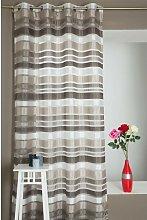 Frahm Eyelet Sheer Curtain Mercury Row Colour: