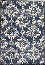 Fraire Blue/Beige Rug by Bloomsbury Market -