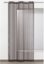 Fraizer Eyelet Sheer Curtain Mercury Row Colour: