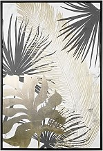 Framed Canvas Wall Art Print 63 x 93 cm MDF Frame
