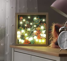 Framed Light Up Sign