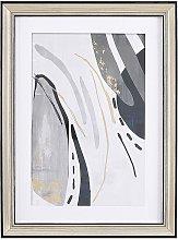 Framed Wall Art Print Frame Passe-Partout 30 x 40