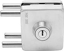 Frameless Glass Door Locks, Push Sliding Gate Lock
