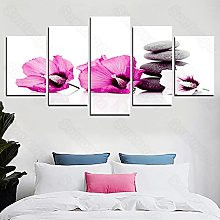 Frameless Painting Small Flower Personality Art