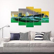 Frameless Paintings, Five Spells, Landscape Oil