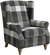 Frampton Wingback Chair Union Rustic Upholstery