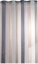 France Sky Panel Curtain, Polyester, beige, 140x