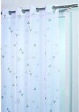 France Sky Panel Curtain, Polyester, grey, 240x