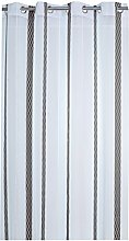 France Sky Panel Curtain, Polyester, grey, 260x
