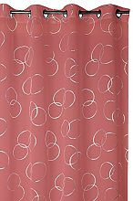 France Sky Panel Curtain, Polyester, red, 260x