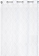 France Sky Panel Curtain, Polyester, white, 240x