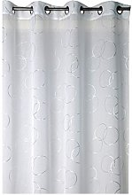 France Sky Panel Curtain, Polyester, white, 260x