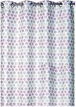 France Sky Panel Upholstery, Polyester, purple,