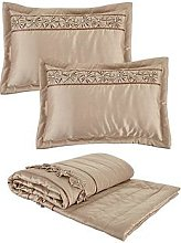 Franchesca Bedspread Throw And Pillow Shams