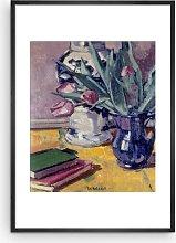 Francis Cadell - 'Tulips' Framed Print &