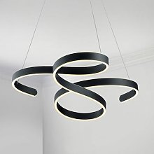 Francis LED pendant light, anthracite