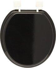FRANDIS 191402 Toilet Seat Hinge-White/Black, 37.5