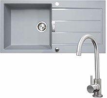 Franke 1.0 Bowl Grey Reversible Composite Kitchen