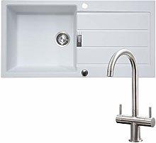 Franke 1.0 Bowl White Reversible Composite Kitchen