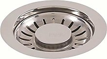 Franke 906 Kitchen Sink Strainer Basket, Chrome, S