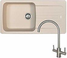 Franke Aveta 1.0 Bowl Cream Tectonite Kitchen Sink