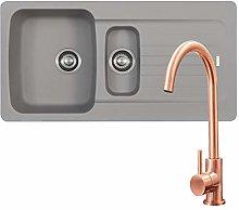 Franke Aveta 1.5 Bowl Stone Tectonite Kitchen Sink