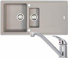 Franke Gemini 1.5 Bowl Grey Reversible Kitchen
