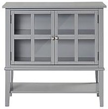 Franklin 2 Door Storage Cabinet- Grey
