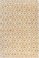 Franko Natural/White Rug by Bloomsbury Market -