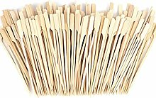 Fransande 500 Pcs Bamboo Skewers - 7 Inch Bamboo