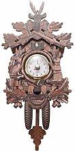 Fransande Vintage Home Decorative Bird Wall Clock