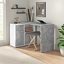 Fred L-Shape Desk Zipcode Design