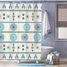 Free Brand Aztec Pattern Teal Line Design Pedicel