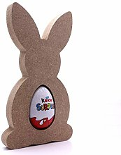 Free Standing MDF Bunny Kinder Egg Holder - 18mm