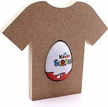 Free Standing MDF Football Shirt Kinder Egg Holder
