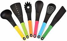 FREEDOH Kitchen Tool Set Nylon Multi Colour Set of
