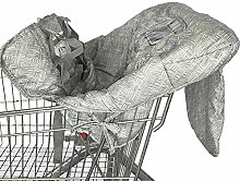 Freedomanoth Shopping Cart Cover For Baby Portable