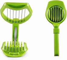 FREELX Portable Egg Slicer with Stainless Steel
