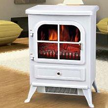 Freestanding 1850W Burton Electric Fireplace