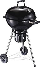 Freestanding Charcoal BBQ Grill Portable Cooker w/