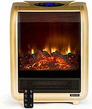 Freestanding fireplace portable electric stove