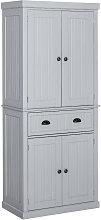 Freestanding Kitchen Storage Cabinet w/ Drawers