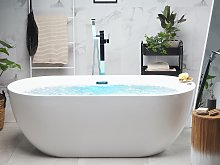 Freestanding Whirlpool Bath White Sanitary Acrylic