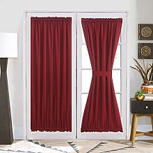 French Door Curtain Panel for Privacy - Aquazolax