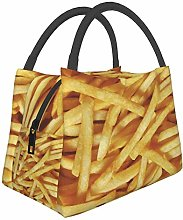 French Fries French Fries Lunch Bag Insulated
