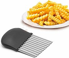French Fry Slicer Wavy Crinkle Cutting Tool Wavy