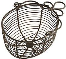 French Kitchen Collection Hanging Basket Dark