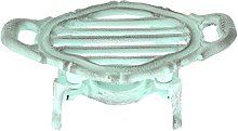 French Kitchen Collection Oval Food Warmer, Cast